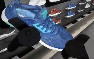 Adidas Shoe Wall